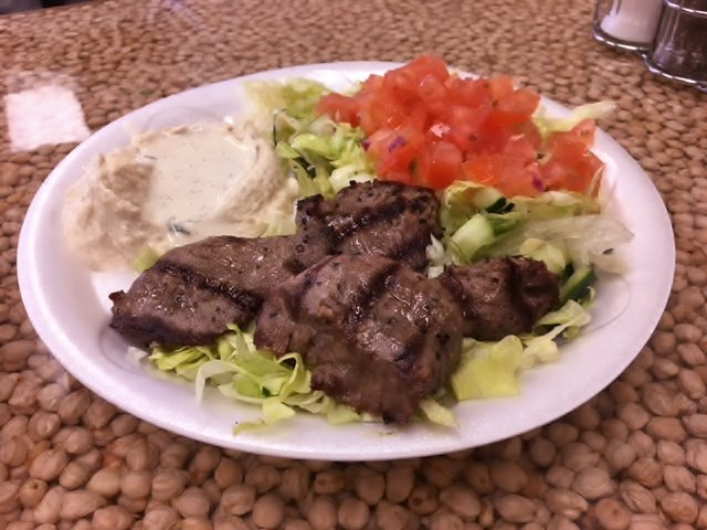 Middle Eastern Lunch Plate