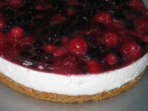 berry-cheesecake