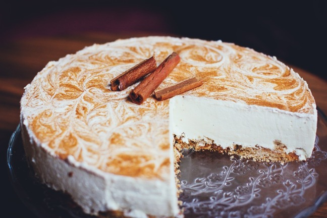 Cinnamon-cheesecake
