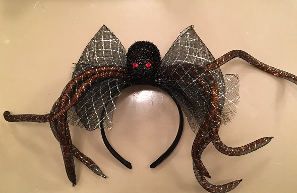 Halloween spider headpiece