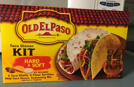 Old El Paso Taco Kit